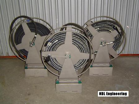 Waterblaster hose reel & Waterblaster hose reel - Products - NDL Engineering